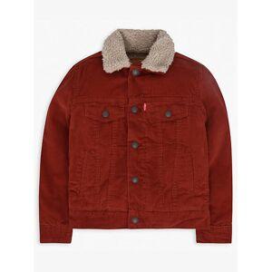 Levi's Boys 4-7x Sherpa Lined Trucker Jacket XXL6  - Burnt Orange - Size: XXL6