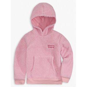 Levi's Girls 4-6x Sherpa Hoodie XXLX  - Pink Lavender - Size: XXLX