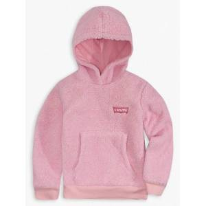 Levi's Girls 4-6x Sherpa Hoodie 6  - Pink Lavender - Size: 6