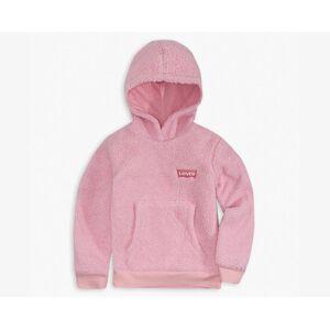 Levi's Girls 4-6x Sherpa Hoodie XXLM  - Pink Lavender - Size: XXLM