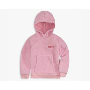 Levi's Girls 4-6x Sherpa Hoodie 5  - Pink Lavender - Size: 5