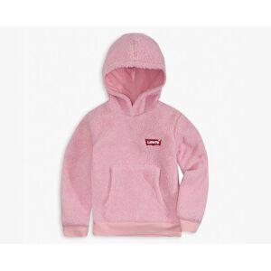 Levi's Girls 2T-4T Sherpa Hoodie XXL6  - Pink Lavender - Size: XXL6