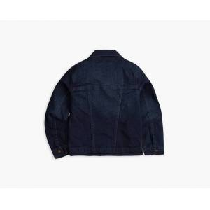 Levi's Girls 4-6x Denim Trucker Jacket XXLX  - Tailored Indigo - Size: XXLX