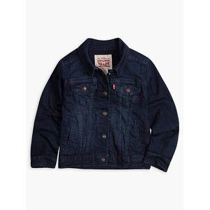 Levi's Girls 4-6x Denim Trucker Jacket 6  - Tailored Indigo - Size: 6