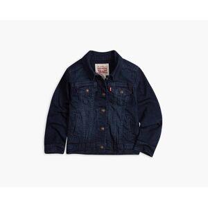 Levi's Girls 4-6x Denim Trucker Jacket 5  - Tailored Indigo - Size: 5