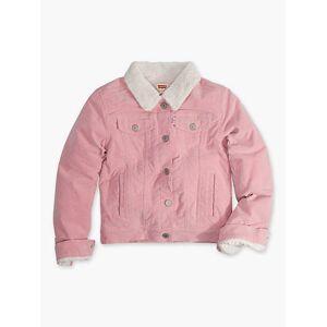 Levi's Girls 4-6x Sherpa Trucker Jacket 6  - Blush - Size: 6
