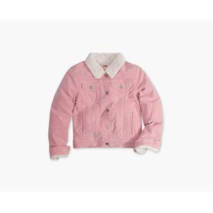 Levi's Girls 4-6x Sherpa Trucker Jacket 5  - Blush - Size: 5