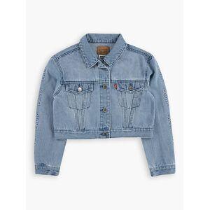 Levi's Girls Oversized Cropped Trucker Jacket XXL6  - Huntley - Size: XXL6