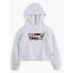 Levi's Girls Cropped Hoodie XXL6  - White - Size: XXL6