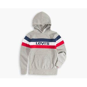 Levi's Boys Colorblock Hoodie XXL6  - Grey Heather - Size: XXL6