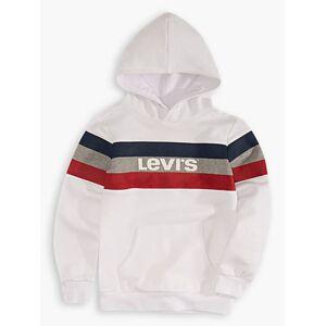 Levi's Boys 4-7x Colorblock Hoodie XXL6  - White - Size: XXL6