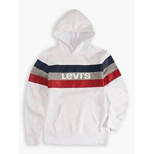 Levi's Boys S-XL Colorblock Hoodie XXL6  - White - Size: XXL6