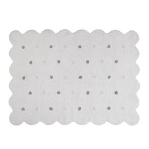 Lorena Canals Biscuit Rug (Color: White)