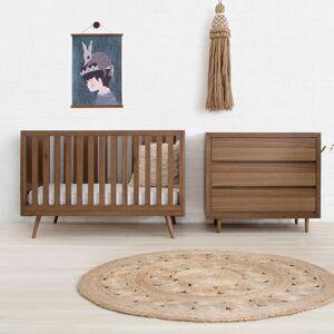 ubabub Nifty Timber 3-in-1 Crib (Color: Natural Birch)