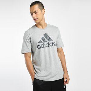 adidas Essentials Camouflage Print T-Shirt - Mens - GREY