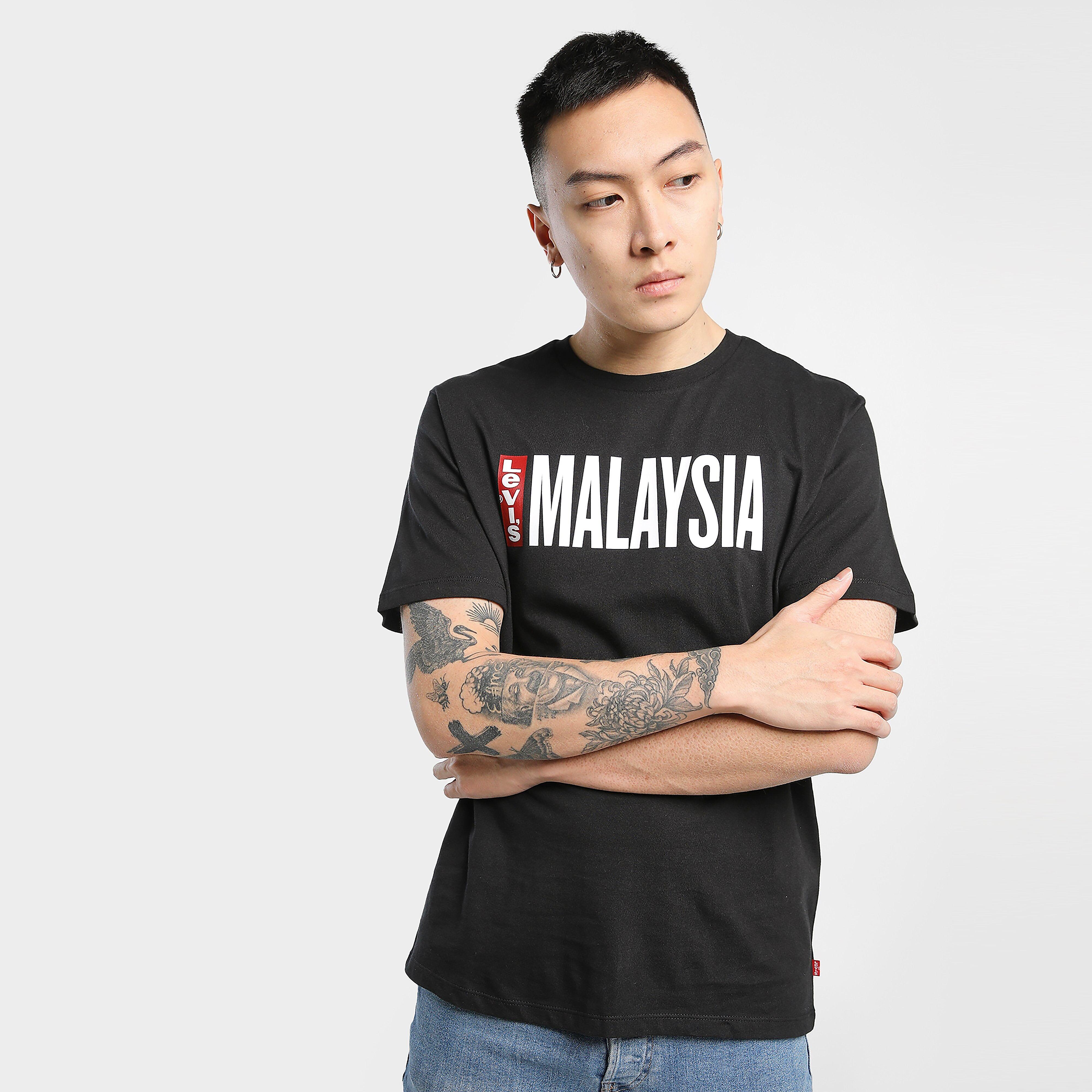 Levi's MALAYSIA TEE - BLACK