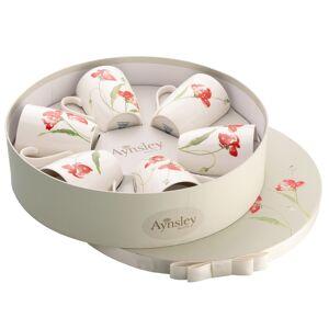 Aynsley Meadow Set 6 Mugs in Hat Box