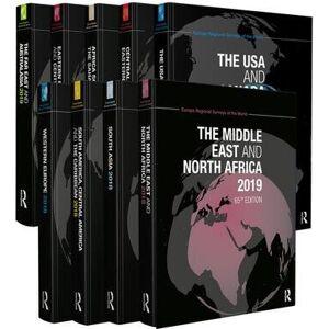 Routledge The Europa Regional Surveys of the World 20199-Volume Set