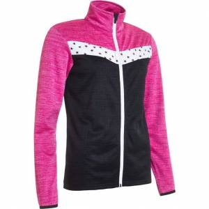Abacus Fortrose Fullzip Women's Outerwear L Black Star