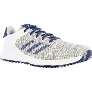 Adidas S2G Men's Spikeless Shoes 9 1/2 M White/Tech Indigo/Grey Two