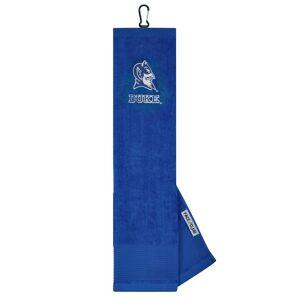 Team Effort NCAA Face/Club Trifold Embroidered Towel  Duke Blue Devils
