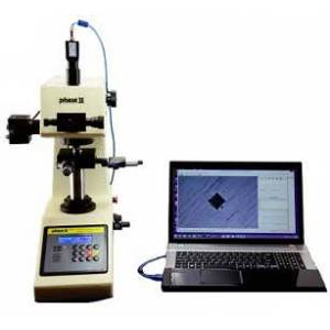 Phase II 900-391E Micro Vickers Hardness Tester with Auto Turret, 1 to 2,967 HV