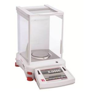 OHAUS EX324N/AD Certified Explorer Analytical and Precision Balance, 11.3 oz