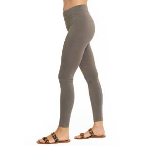 Hard Tail Forever Organic High Rise Ankle Legging - Thyme - XL