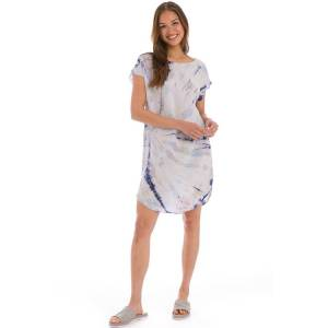 Hard Tail Forever Short Sleeve Shirt Tunic - Two Time Spiral 4 - L