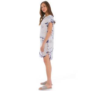 Hard Tail Forever Short Sleeve Shirt Tunic - Two Time Spiral 4 - M