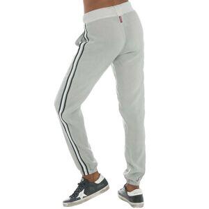 Hard Tail Forever Black Racing Stripe Jogger Pants - Dove - M