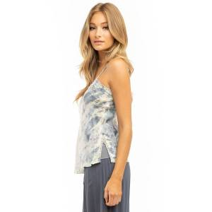 Hard Tail Forever Laced Camisole - Storm Wash 2 - M