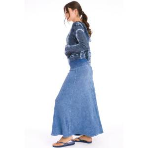 Hard Tail Forever Rolldown Sweep Skirt - Mineral Wash 7 - S