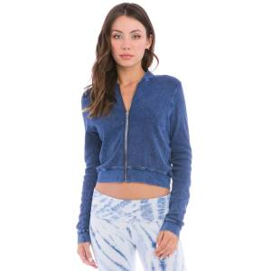 Hard Tail Forever Legend Zip-Up Jacket - Mineral Wash 5 - XS