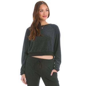 Hard Tail Forever Crop Sweatshirt - Black - XS