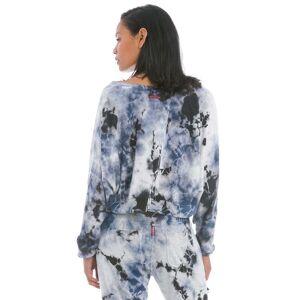 Hard Tail Forever Crop Sweatshirt - Lightning Iceberg 1 - M