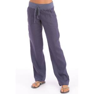 Hard Tail Forever Straight Up Linen Pants - Dusk - L