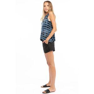 Hard Tail Forever Easy Linen Short - Black - XS