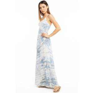 Hard Tail Forever Luxe Boho Maxi Skirt - Storm Wash 2 - XS