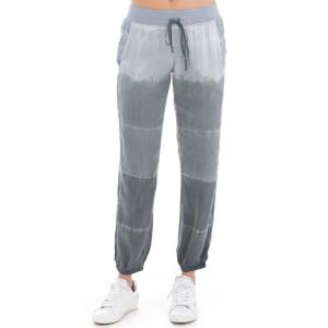 Hard Tail Forever Classic Racer Satin Jogger Pants - Baby Lines 2 - M