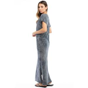 Hard Tail Forever Everyday T-Shirt Maxi Dress - Reverse Spiral Wash 1 - L