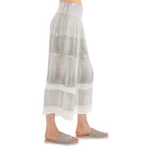 Hard Tail Forever Tango Gauze Flat Waist Crop Pants - Antique Dip Dye 1 - XS