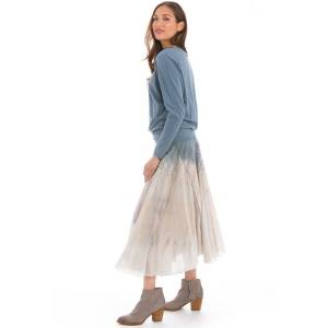 Hard Tail Forever Rolldown Diamond Skirt - Rainbow Horizon 54 - L