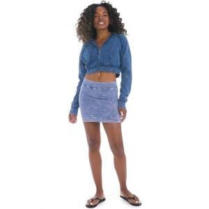 Hard Tail Forever Straight Mini Skirt - Mineral Wash 7 - M
