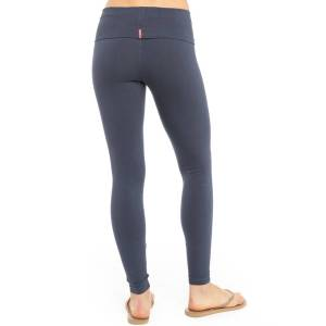 Hard Tail Forever Contour Rolldown Ankle Legging - Storm - M