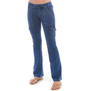 Hard Tail Forever 6 Pocket Cargo Bootleg Flare Pants - Mineral Wash 5 - S