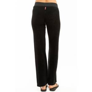Hard Tail Forever Easy Pull-On Terry Pants - Black - XS