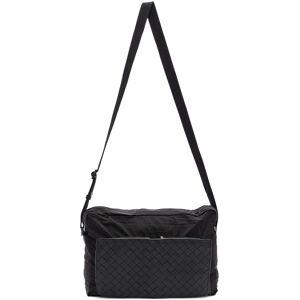 Bottega Veneta Black Intrecciato Packable Messenger Bag  - 8984- NERO - Size: UNI