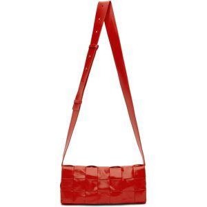 Bottega Veneta Red 'The Stretch Cassette' Bag  - 6541-TOMATO - Size: UNI