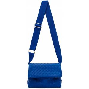 Bottega Veneta Blue Fold Bag  - 4256 COBALT SILVER - Size: UNI